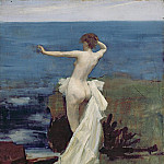 Sir John Lavery - Study for Ariadne