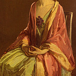 Sir John Lavery - Portrait Of Miss Julia McGuire
