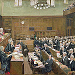 Sir John Lavery - The Court of Criminal Appeal, London