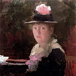 Sir John Lavery - Portrait of Miss Gerda Rydberg