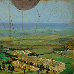 Sir John Lavery - From a Kite Balloon, Roehampton