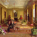 Sir John Lavery - Lord Duveen of Millbank at Home