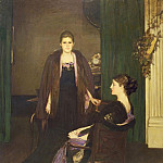 Sir John Lavery - Miss MacLaren and Mrs Oliver