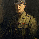 Sir John Lavery - Portrait of Winston Churchill
