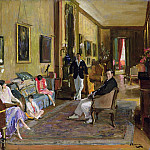 Sir John Lavery - Count John McCormack and his Family