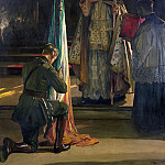 Sir John Lavery - The Blessing of the Colours