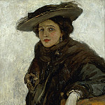 Sir John Lavery - The Spanish Hat or Mrs. Gerard Chowne