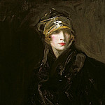 Sir John Lavery - The Golden Turban