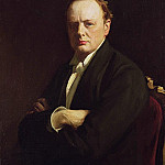 Sir John Lavery - Sir Winston Churchill