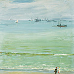 Sir John Lavery - A Calm Day, Tangier Bay