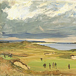 Sir John Lavery - The Golf Links, North Berwick