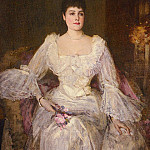 Sir John Lavery - Portrait Of Lady Lyle
