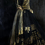 Sir John Lavery - Hazel in Black and Gold