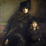 Sir John Lavery - Mother and Child