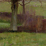 Sir John Lavery - Bridge at Hesterworth, Shropshire