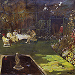 Sir John Lavery - The Garden at Ardilea