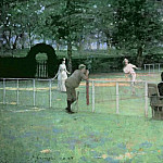 Sir John Lavery - The Tennis Party