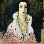 Sir John Lavery - Portrait of the Countess of Rocksavage Sybil Sassoon