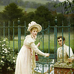 Edmund Blair Leighton - Where there s a will