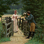 Edmund Blair Leighton - The Galant Suitor