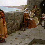The Hostage, Edmund Blair Leighton