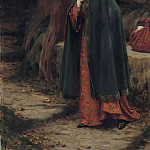 The Footstep, Edmund Blair Leighton