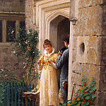 The Request, Edmund Blair Leighton