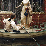 The Elopement, Edmund Blair Leighton