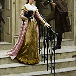 My next door neighbour, Edmund Blair Leighton