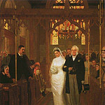 Till Death Us Do Part, Edmund Blair Leighton