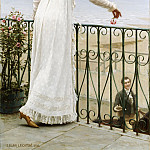 A Favour, Edmund Blair Leighton