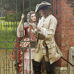 Edmund Blair Leighton - What shall I say?