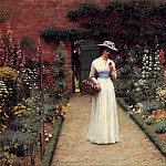 The Rose Garden, Edmund Blair Leighton