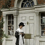 Edmund Blair Leighton - The New Governess