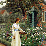 The Fate of the Rose, Edmund Blair Leighton