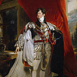 Portrait of George IV of England