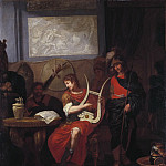 Achilles Playing the Lyre before Patrocles