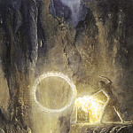 Alan Lee - Khorne012_Alan_Lee_Sauron_forging_the_Ring