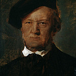 Carl Spitzweg - Portrait of Richard Wagner