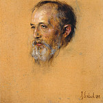Julius Jacob - Portrait Hermann Levi