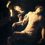 Guercino (Giovanni Francesco Barbieri) - Saint Sebastian Healed by Irene