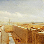 Canal under Construction, possibly the Bude Canal