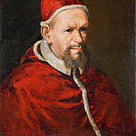 Luca di Tomme - Portrait of Pope Innocent X (Attr)