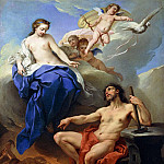 Charles-André van Loo - Venus Requesting Vulcan to make Arms for Aeneas