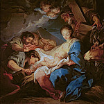 Charles-André van Loo - The Adoration of the Shepherds