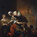 Aeneas Rescuing his Father from the Fire at Troy