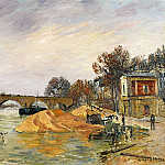 The Pont Marie de Paris 1912, De Schryver Louis Marie