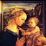 Filippino Lippi - Virgin with children