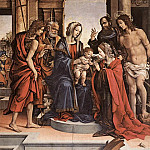 Filippino Lippi - The Marriage of St Catherine 1501