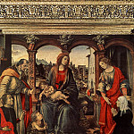 Filippino Lippi - Madonna with Child and Saints c1488